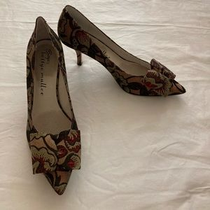Bettye Muller Floral Pumps (from Anthropologie)